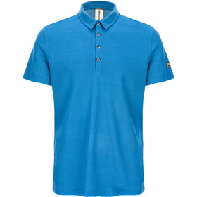 super.natural Piquet Poloshirt Heren, vallarta blue